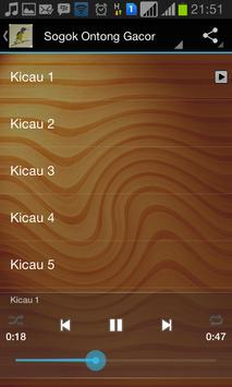 Master Kicau Sogok Ontong screenshot 1