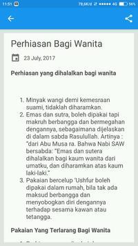 Buku Saku Muslimah Islam screenshot 3