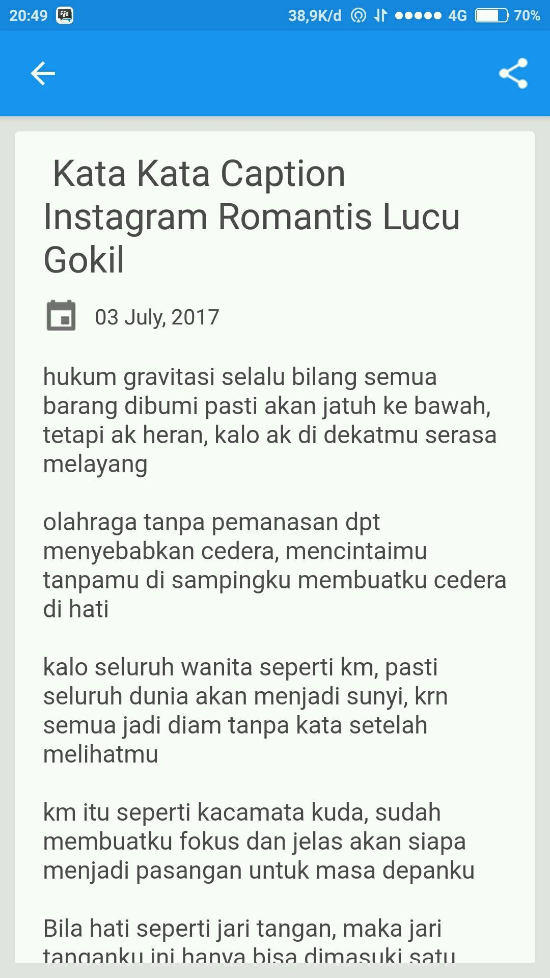 Caption I G Lucu Kekinian For Android Apk Download