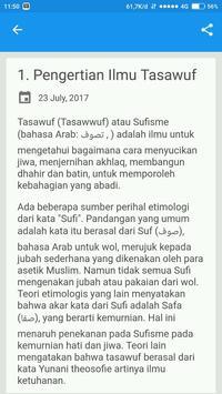 Kitab Ilmu Tassawuf screenshot 1
