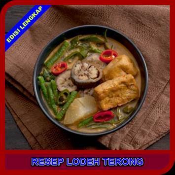 Resep Lodeh Terong poster