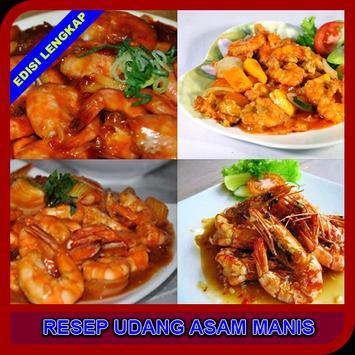 Buku Resep Udang Asam Manis poster