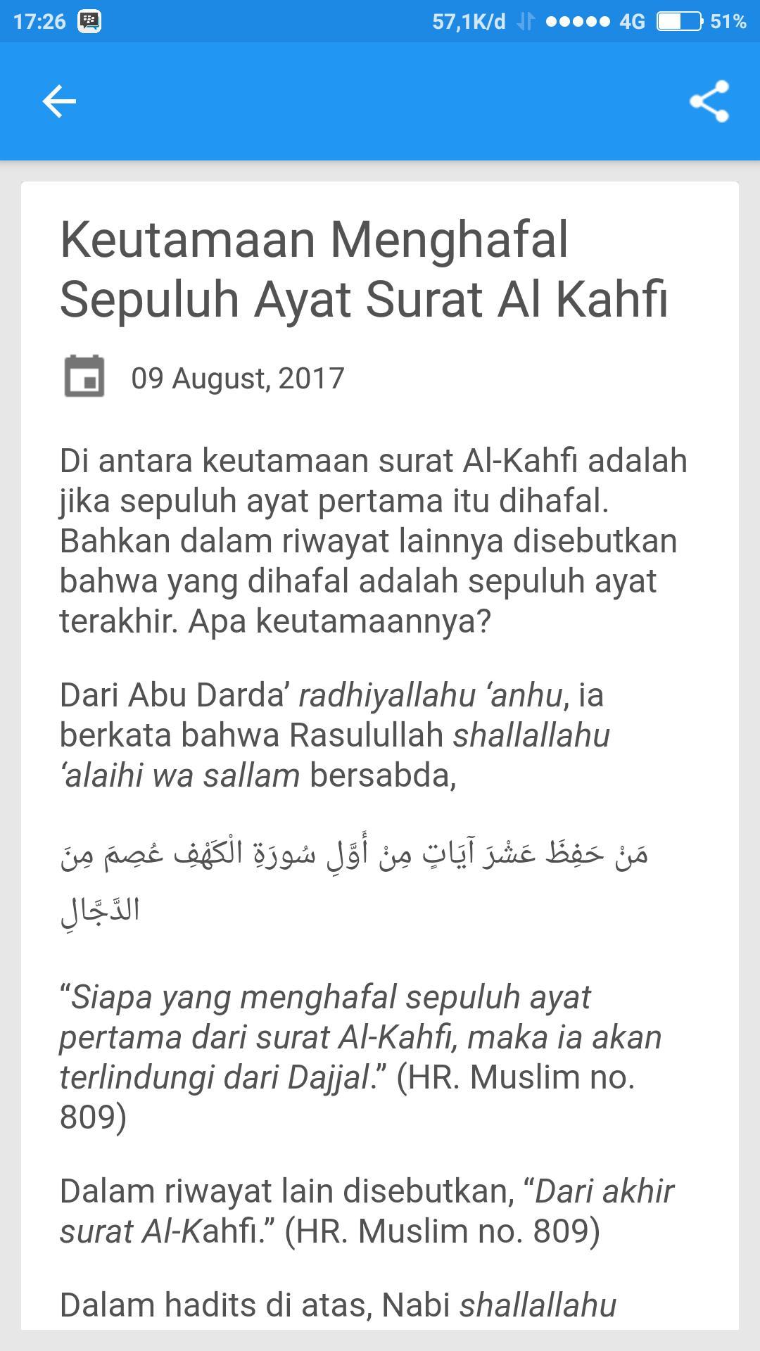 Surah Al Kahfi Arab Latin Artinya For Android Apk Download