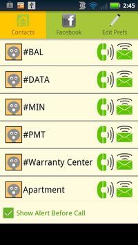 Call Preferences screenshot 3