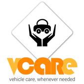 vcare - service center app icon