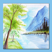 Drawing Scenery Landscapes icon