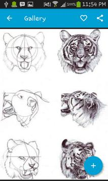 Realistic Drawing Step by Step apk screenshot