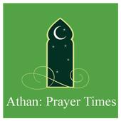 Athan: Europe Prayer Times 🕌 icon