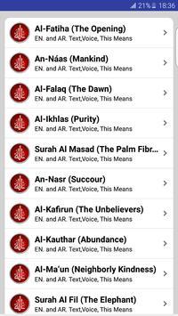 Prayer Surahs screenshot 1