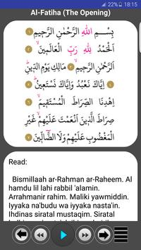 Prayer Surahs screenshot 2