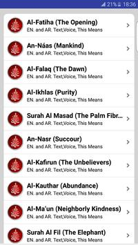 Prayer Surahs screenshot 7