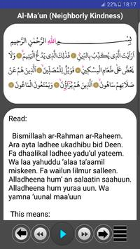 Prayer Surahs screenshot 4