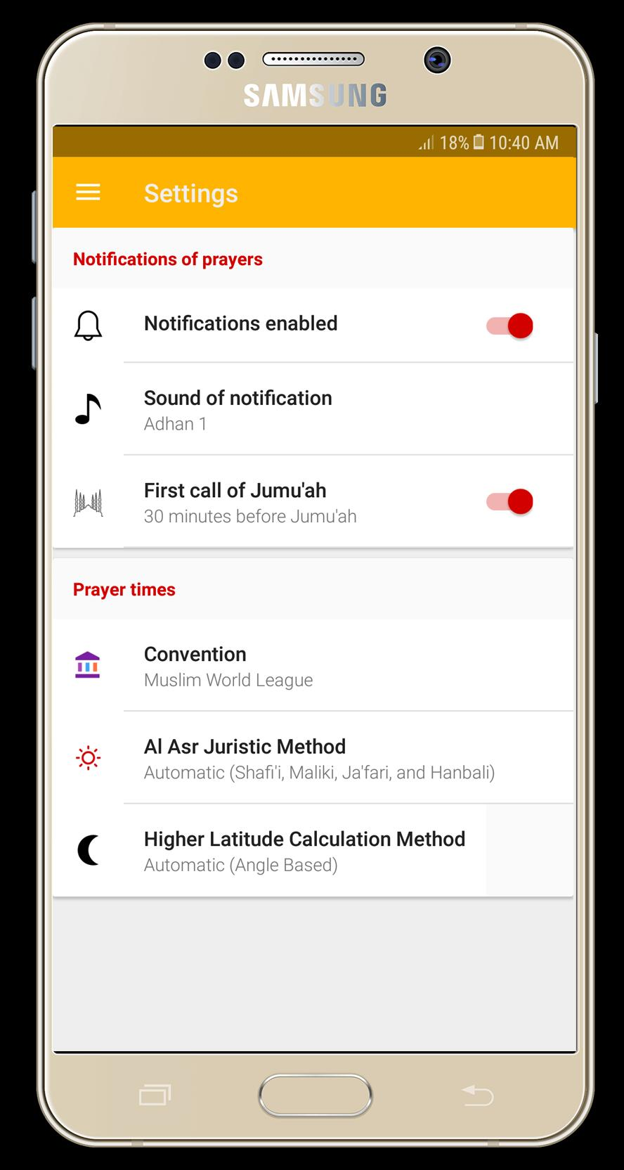 Athan Prayer times azan & Qibla for Android - APK Download