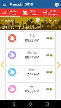 Muslim Prayer Times - Qibla Compass, Azan, Quran poster