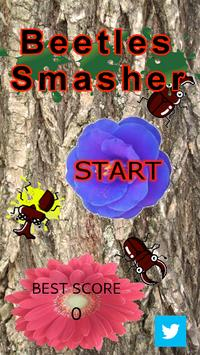 Beetles Smasher 【Popular Apps】 screenshot 1