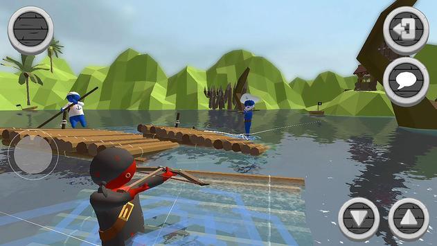 Super Raft Battle Simulator apk screenshot