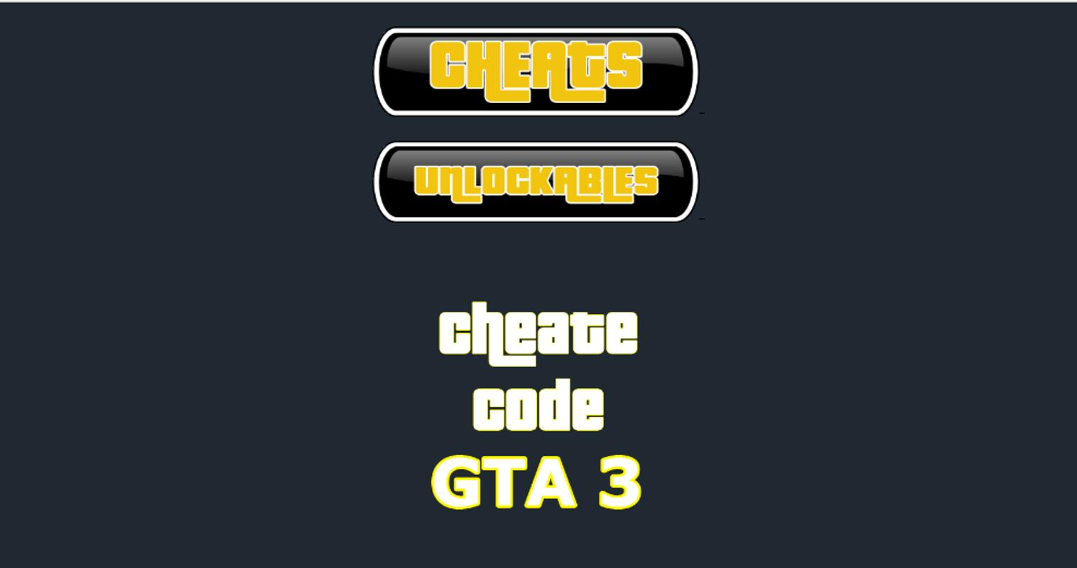 Jcheater: gta iii edition download and install | android.