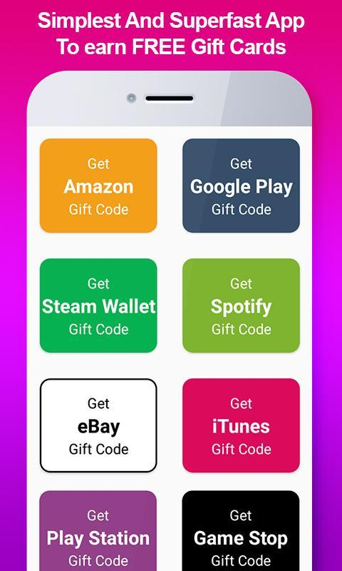 Free Gift Card Generator 100 Real For Android Apk Download