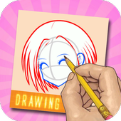 Learn To Drawing Cute Anime icon