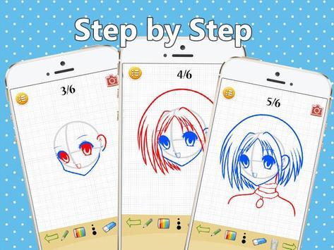 Learn To Drawing Cute Anime apk screenshot