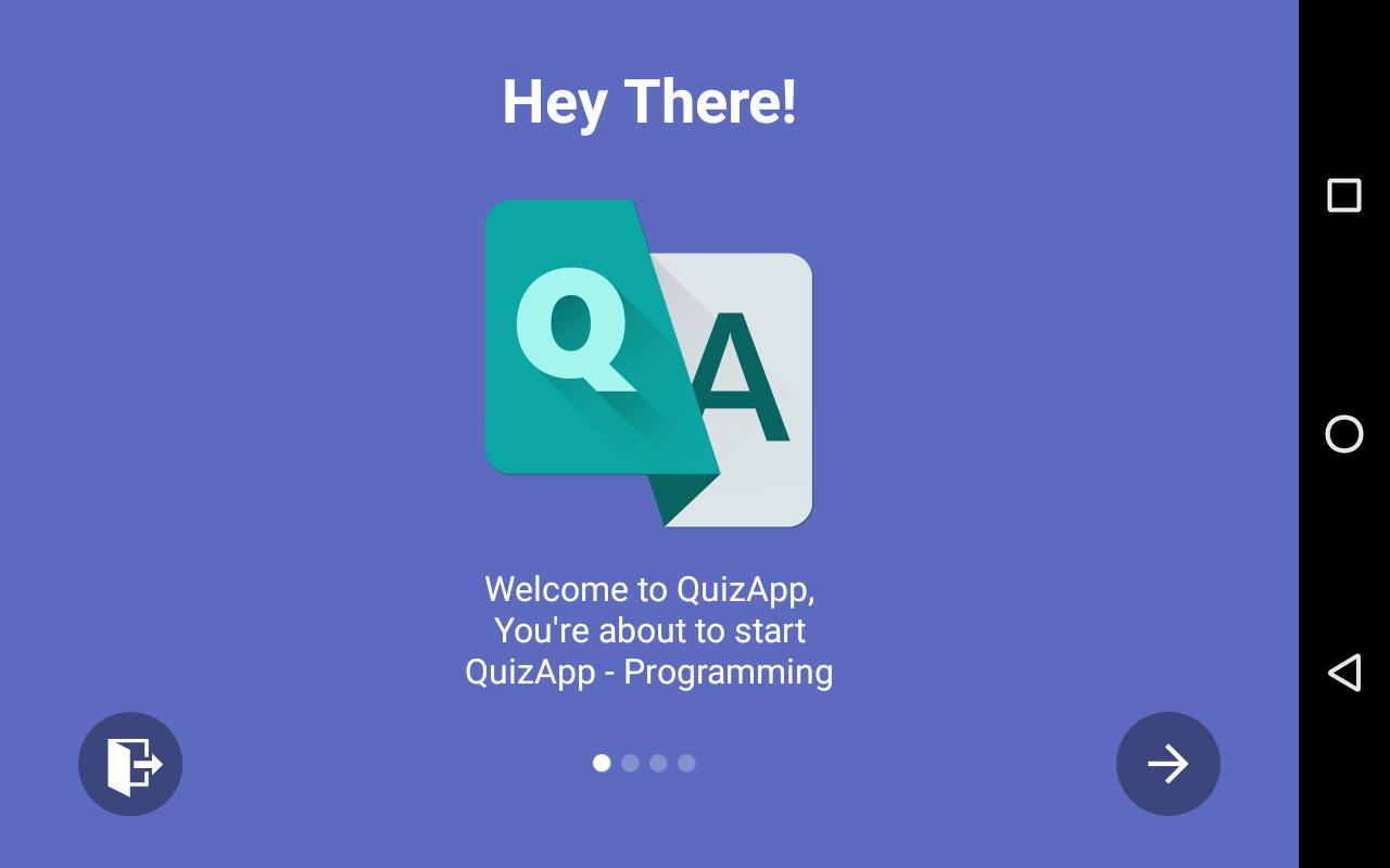 QuizApp - iOS, Java, HTML & JS for Android - APK Download
