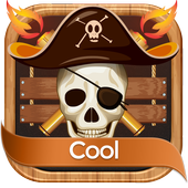 Flaming Skull SMS icon