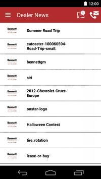 Bennett GM DealerApp apk screenshot