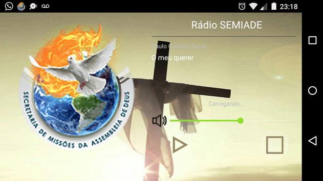Rádio SEMIADE apk screenshot
