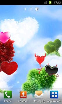 Heavenly Hearts Garden HD Free screenshot 5