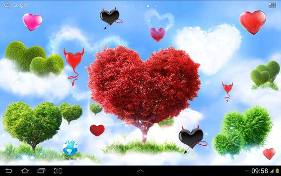 Heavenly Hearts Garden HD Free screenshot 6