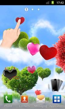 Heavenly Hearts Garden HD Free poster