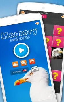 Memory do Jogo: Animais Cartaz