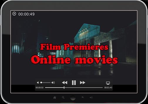 Movie premieres and films apk screenshot
