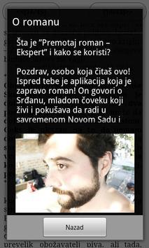 Premotaj roman – Ekspert apk screenshot