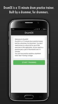 DrumEX poster