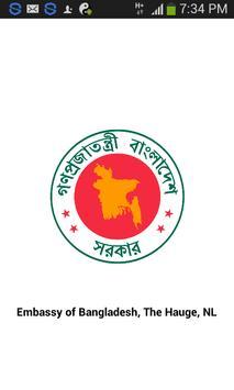 Bangladesh Embassy, Hague, NL apk screenshot