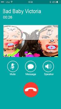 New Bad Baby Victoria call prank screenshot 2
