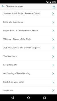 White Rock Theatre Bars screenshot 1