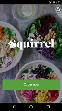 Squirrel – Nuts About Health poster