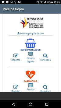 Precios Scpm poster