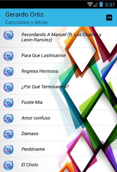 Gerardo Ortiz Fuiste Mía Musica Y Letras For Android Apk Download