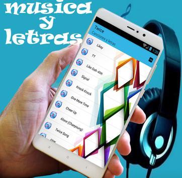 "TWICE ""LIKEY"" M/V musica y letra apk screenshot"