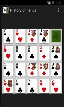 PREDICT POKER HANDS apk screenshot
