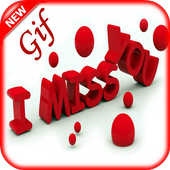 Miss You Gif Images latest icon