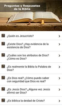 Questions and Answers Bible apk screenshot