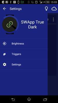 SWApp True Dark poster