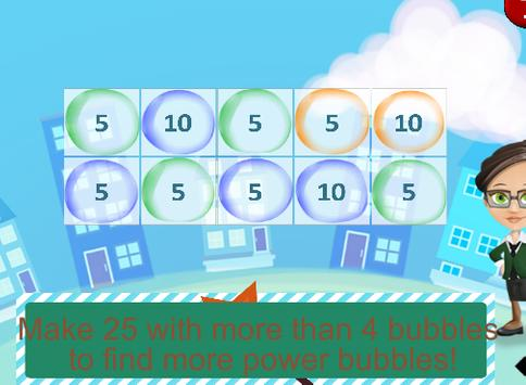 Miss Fingy Add With Bubbles screenshot 1