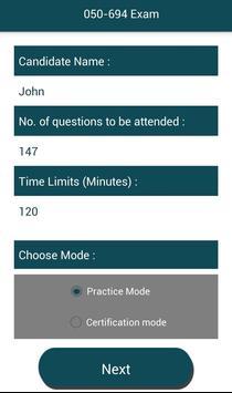 PL 050-694 Novell,Inc Exam screenshot 1