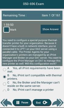 PL 050-696 Novell,Inc Exam apk screenshot
