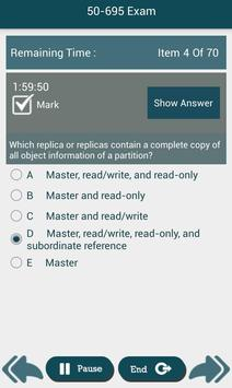 PL 50-695 Novell,Inc Exam screenshot 3
